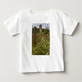 Flowers And A Silo Baby T-Shirt