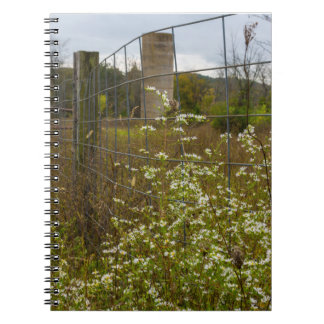 Flowers And A Silo Notebooks