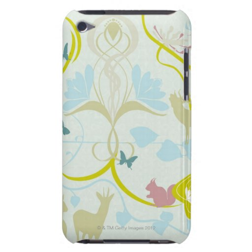 Flowers and Animals iPod Case-Mate Cases