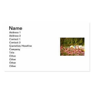 Flowers and Balloons Business Cards