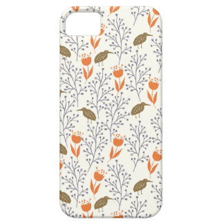 Flowers and Birds Neutral Phonecase iPhone 5 Cover