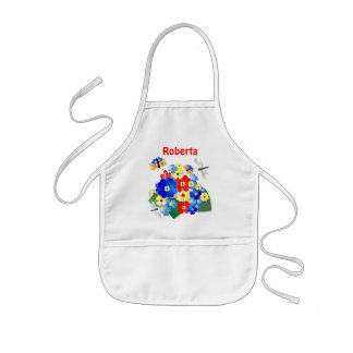 Flowers and Butterflies ~ Apron