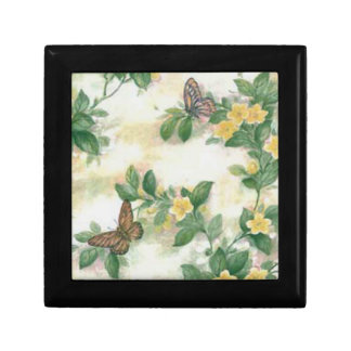 Flowers And Butterflies Gift Box