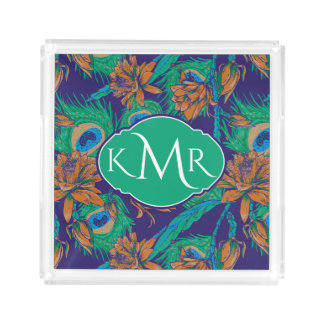 Flowers And Feathers | Monogram