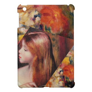 Flowers and female beauty blend just right iPad mini cases