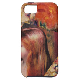 Flowers and female beauty blend just right iPhone 5 cases