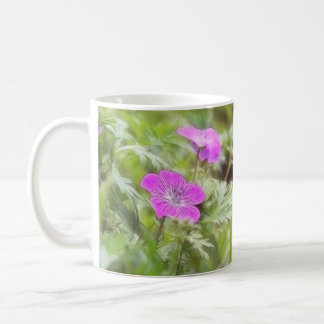 Flowers And Foliage - Hardy Geranium Coffee Mug