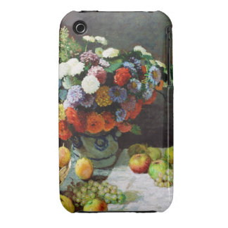 Flowers and Fruit, 1869  Claude Monet iPhone 3 Case-Mate Case