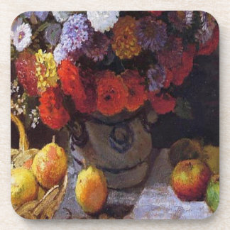Flowers and Fruit Drink Coaster
