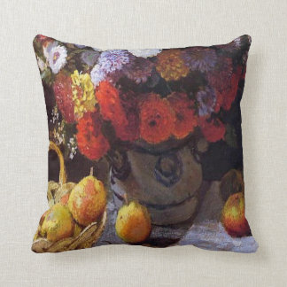 Flowers and Fruit Cushion