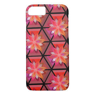 Flowers and geometry iPhone 7 case