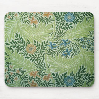 Flowers and Green Leaves Mousepad