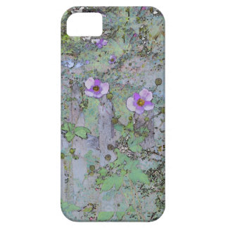 Flowers and Old Fence Case For The iPhone 5