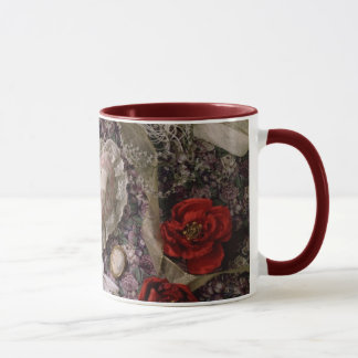 Flowers and Old Lace Mug