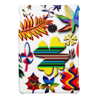flowers and plants iPad mini case