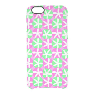 Flowers and Spots Clear iPhone 6/6S Case