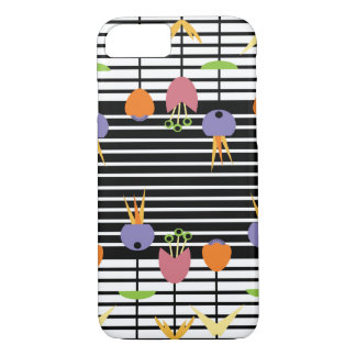 Flowers and Stripes iPhone 8/7 Case