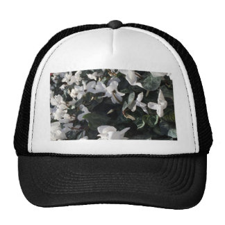 Flowers and unicorns cap