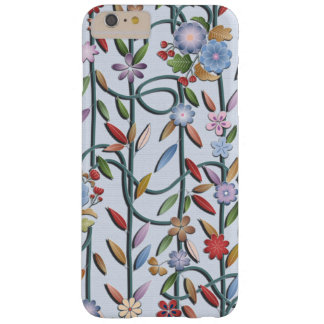 Flowers and vines barely there iPhone 6 plus case