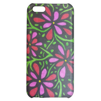 Flowers and Vines Cover For iPhone 5C