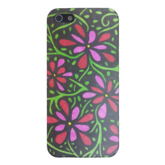 Flowers and Vines Cover For iPhone 5