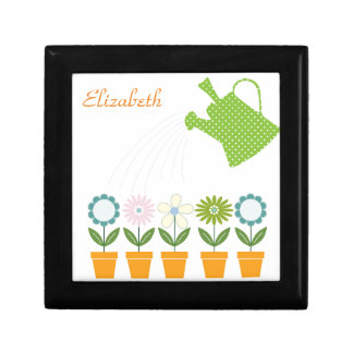 Flowers and Watering Can Gardening Fun Gift Box