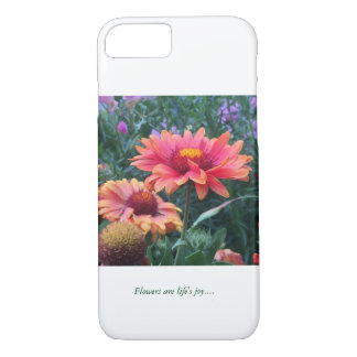Flowers are life's joy..... iPhone 7 case