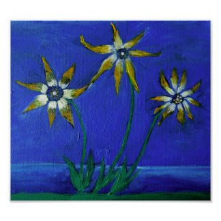 "Flowers Art 28 cm x 21.6 cm (11"" x 8.5""), Value Po Poster"