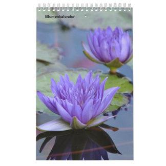 Flowers as calendars
