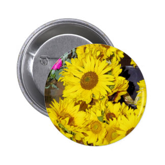 Flowers at the farmers market pin