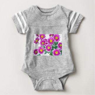 Flowers Baby Bodysuit