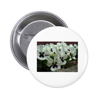 Flowers Pinback Buttons