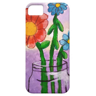 flowers barely there iPhone 5 case
