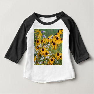 Flowers Black eyed susan's Baby T-Shirt
