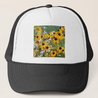 Flowers Black eyed susan's Trucker Hat