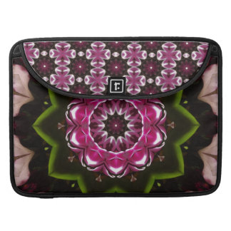 Flowers Bloom Kaleidoscope Laptop Sleeve Sleeve For MacBook Pro