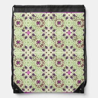 Flowers Blossoms Flowers Digital Pattern Rucksack