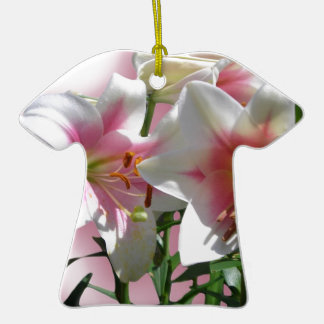 Flowers Blossoms Spring Garden Love Shower Party Ceramic T-Shirt Decoration