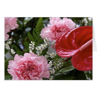 Flowers Bouquet Card