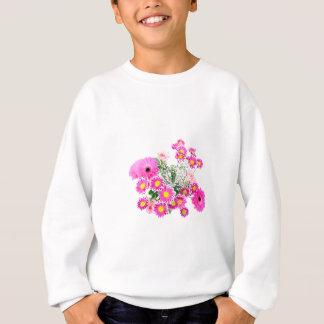 flowers bouquet sweatshirt
