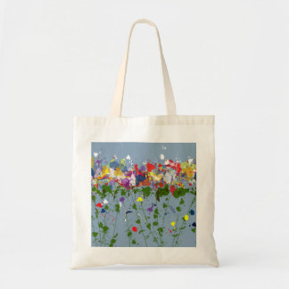 Flowers Budget Tote Canvas Bag