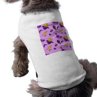 Flowers & Butterflies - Birds & Stars Sleeveless Dog Shirt
