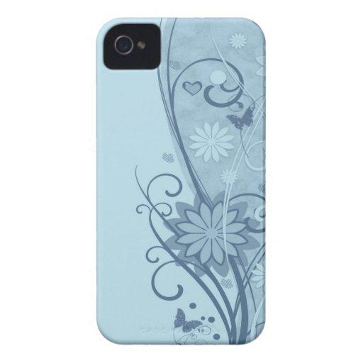 Flowers & Butterflies Blackberry Bold Case