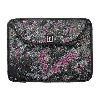 flowers by night Macbook pro flap sleeve MacBook Pro Sleeves