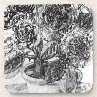 Flowers by Pavel Filonov Beverage Coaster