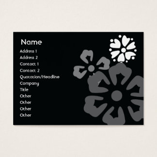 Flowers - Chubby Business Card