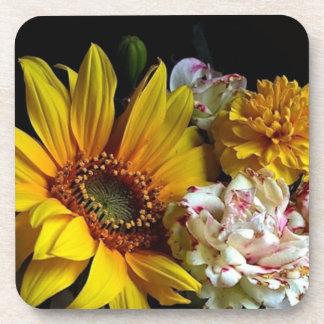 Flowers Coaster Set