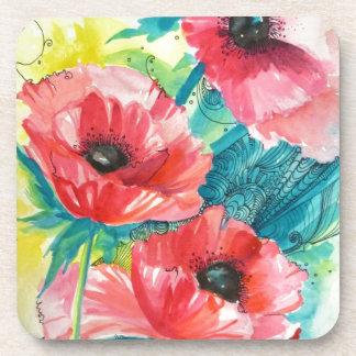 Flowers Coasters