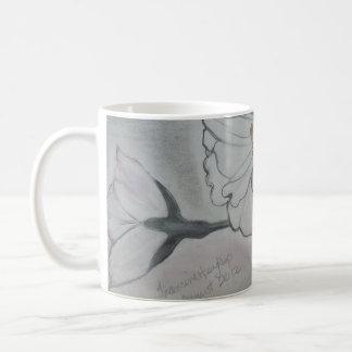 flowers. coffee mug