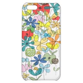 Flowers collage iPhone case Cover For iPhone 5C